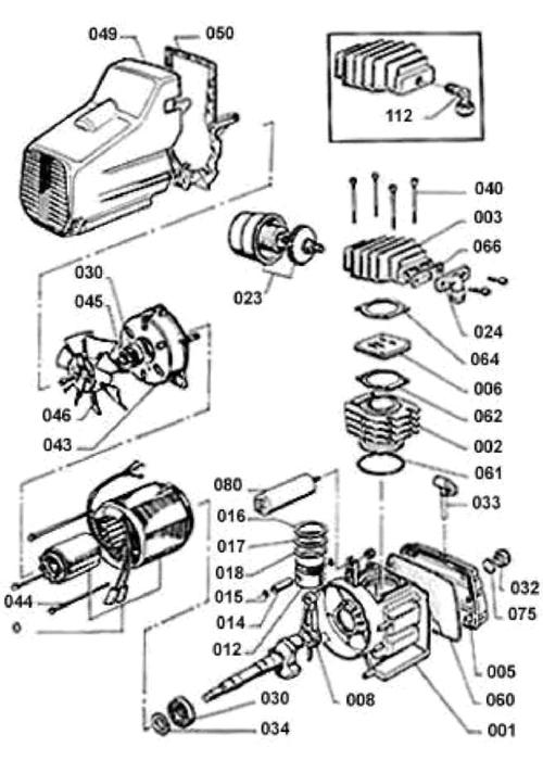 Компрессорная головка D-3/260