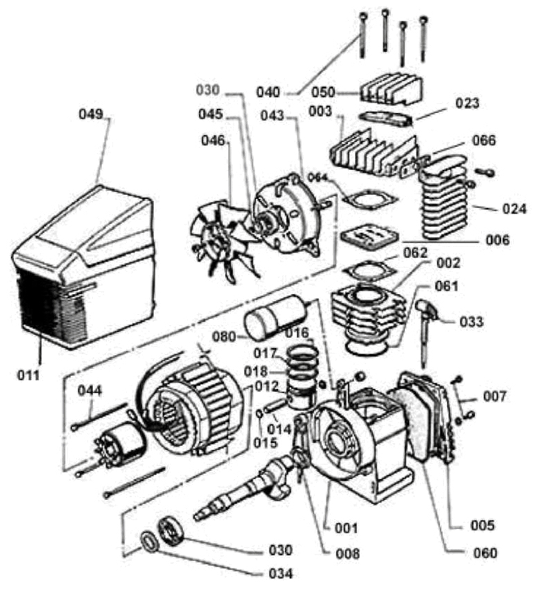 Компрессорная головка F1-310